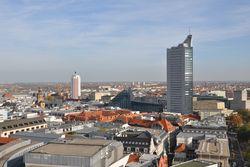 Blick vom Turm des Neuen Rathauses (Foto: © Stadt Leipzig)